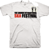 London International Ska Festival White T-shirt